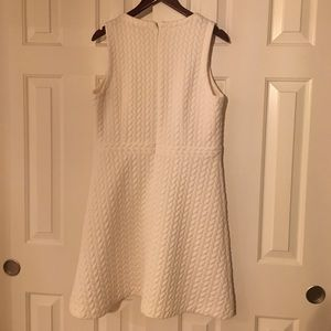 White cable pattern loft dress, size 14